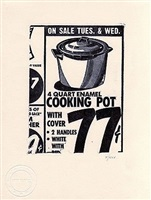 cooking pot [ii.1] by andy warhol